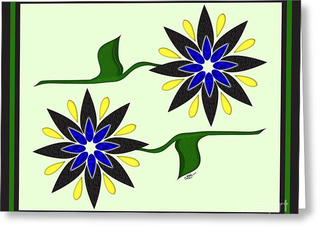 Simply Flowers Greeting Card
