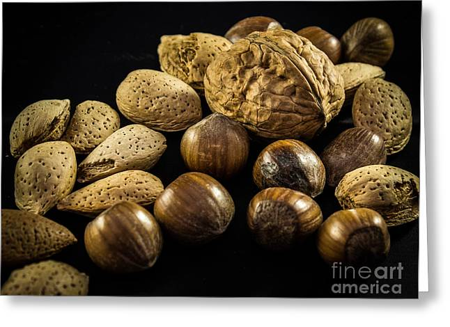 Simply Nuts Greeting Card