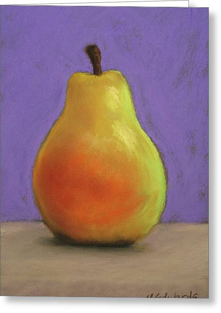 Simply Pear Greeting Card