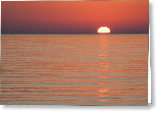 Simply Sunset Greeting Card