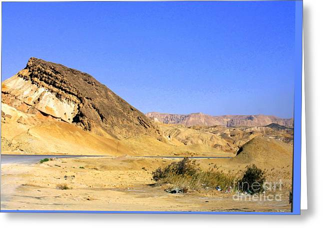 Sinai Desert  Greeting Card