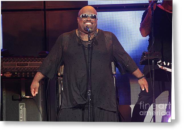Singer Cee Lo Green Greeting Card