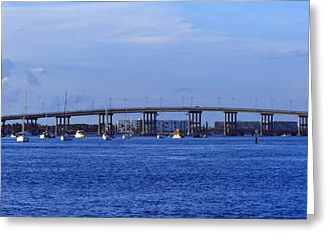 Singer Island Bridge Greeting Card