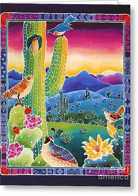 Singing In The Sunrise Greeting Card