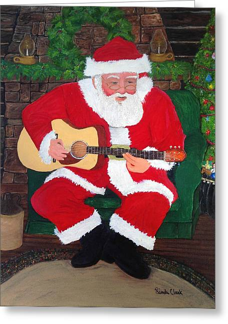Singing Santa Greeting Card