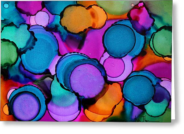 Single Touch Greeting Card by Kim Thompson