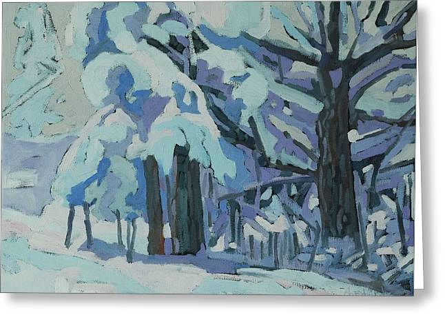 Singleton Snow Day Greeting Card