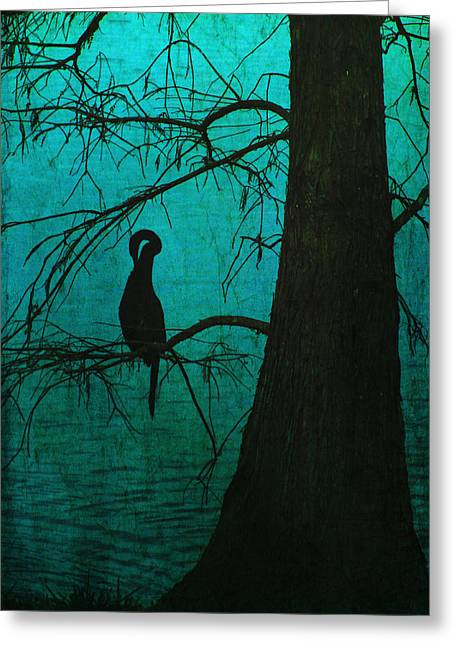 Singular Anhinga  Greeting Card