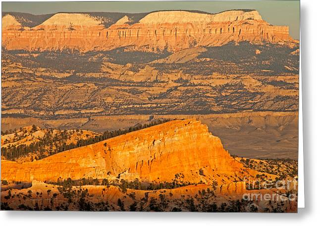 Sinking Ship Sunset Point Bryce Canyon National Park Greeting Card