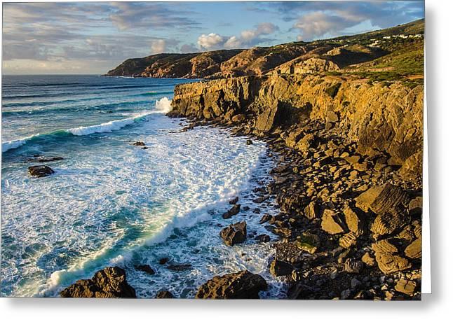 Sintra Coastline Greeting Card