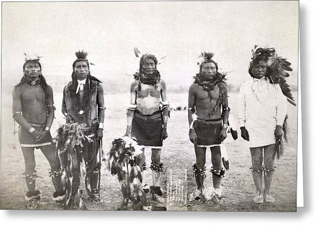 Sioux Dancers, 1890 Greeting Card by Granger
