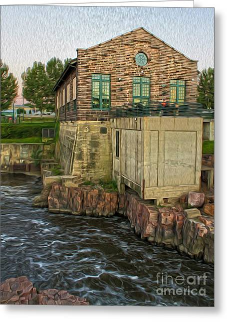Sioux Falls - 05 Greeting Card by Gregory Dyer