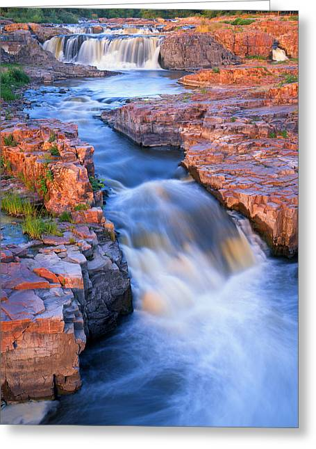 Sioux Falls Greeting Card by Ray Mathis