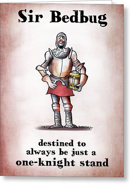 Sir Bedbug Greeting Card