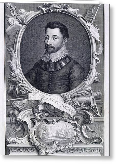 Sir Francis Drake Greeting Card