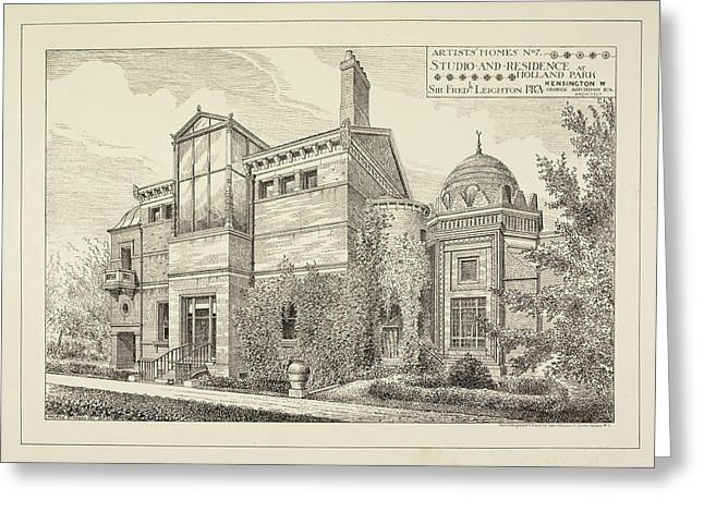 Sir Frederick Leighton's Home In London Greeting Card