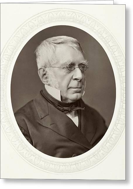 Sir George Biddell Airy (1801-1892) Greeting Card by Granger
