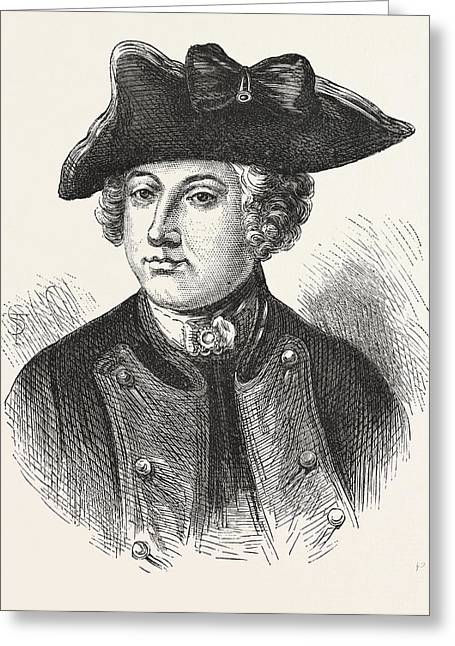 Sir Jeffery Amherst, Officer In The British Army Greeting Card
