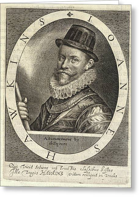 Sir John Hawkins Greeting Card