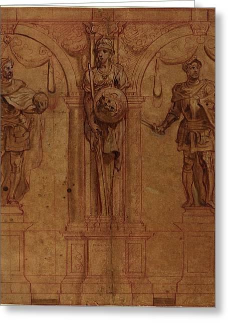 Sir Peter Paul Rubens And Theodoor Van Thulden Greeting Card