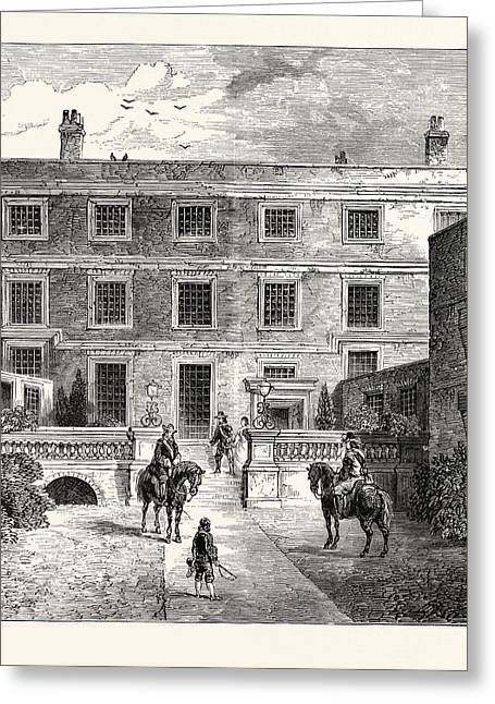 Sir R. Claytons House Garden Front London Greeting Card
