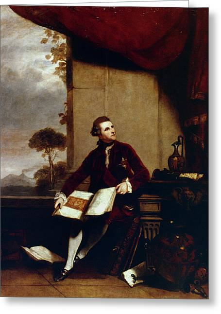 Sir William Hamilton (1730-1803) Greeting Card