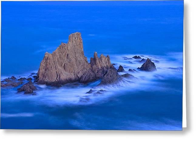Sirenas Greeting Card by Guido Montanes Castillo