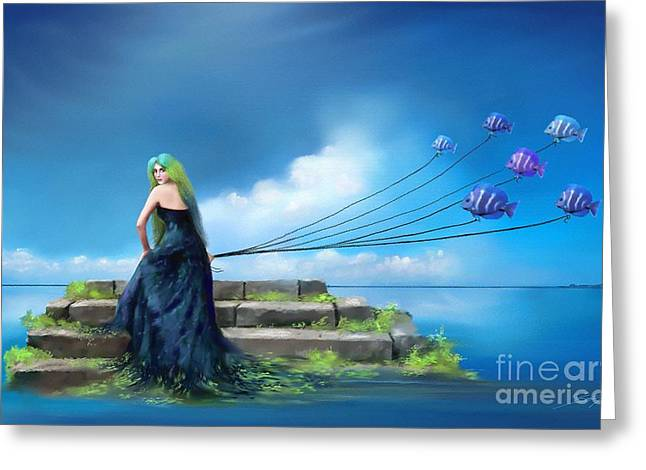 Sirens Lure Greeting Card by S G