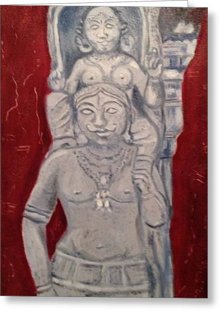 Sirpam- Sculpture Painting Greeting Card