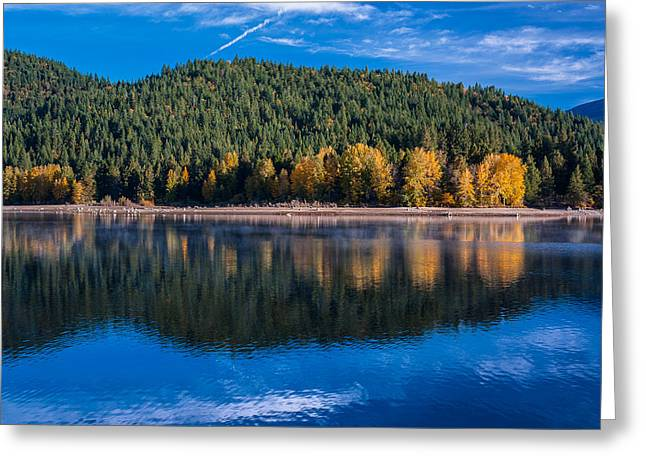 Siskiyou Lake Shoreline Greeting Card