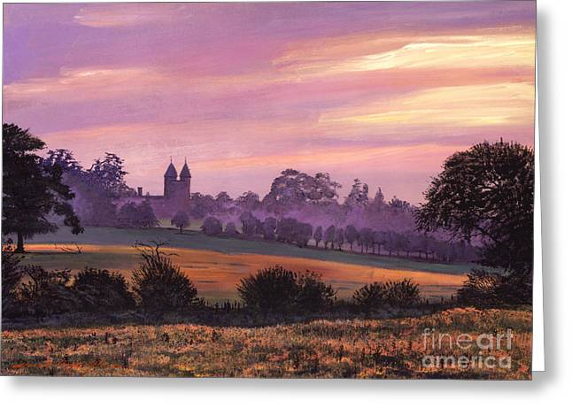 Sissinghurst Castle Sunset Greeting Card