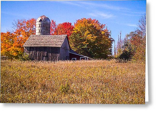Sister Bay Barn Greeting Card