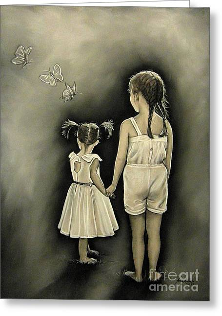 Sisters... Greeting Card