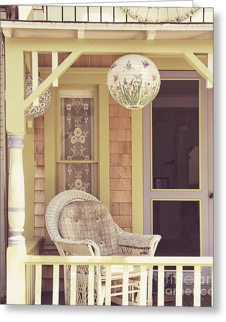 Sit And Relax Greeting Card by Jillian Audrey Photography