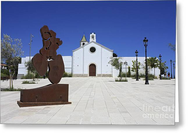 Sitges Spain Greeting Card