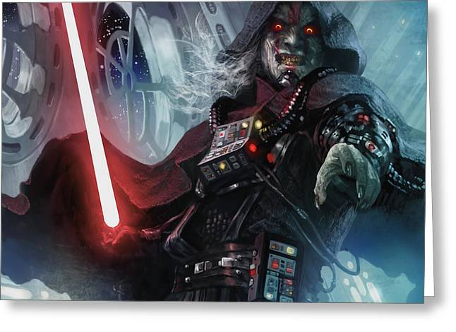 Sith Cultist Greeting Card