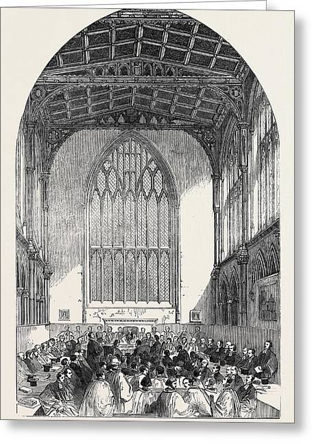Sitting Of The Synod Greeting Card