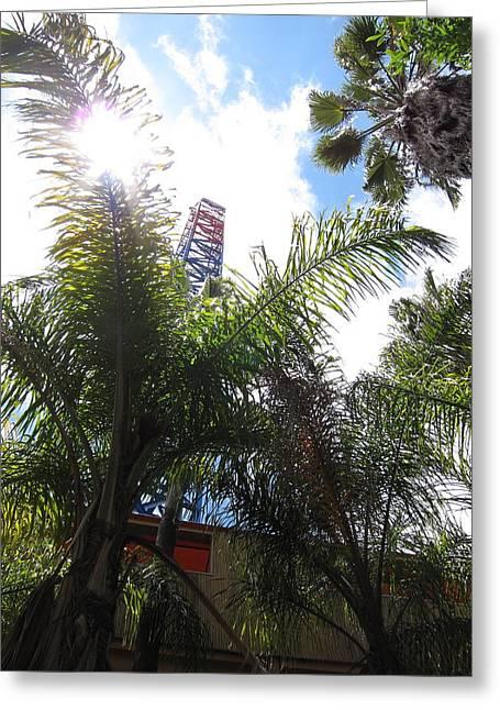 Six Flags Magic Mountain - 12128 Greeting Card