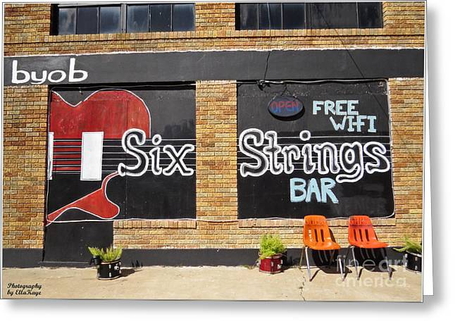 Six Strings Bar - You Might Be A Redneck If Greeting Card