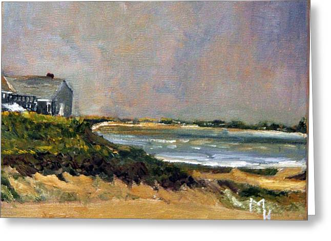 Skaket Beach Orleans Greeting Card