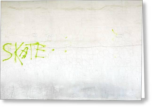 Skate Greeting Card by Valentin Emmanouilidis