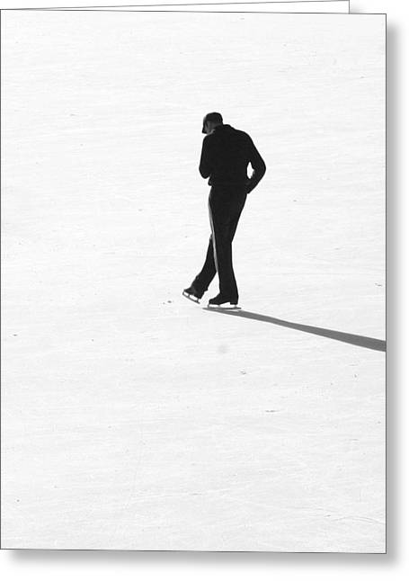Skater Greeting Card by Paul Shappirio