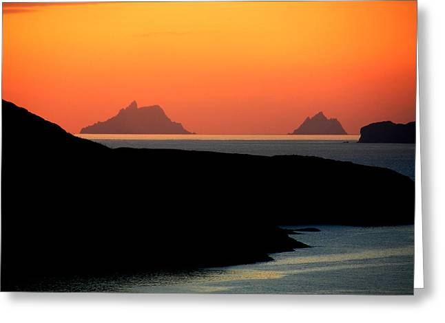 Skellig Islands  Greeting Card