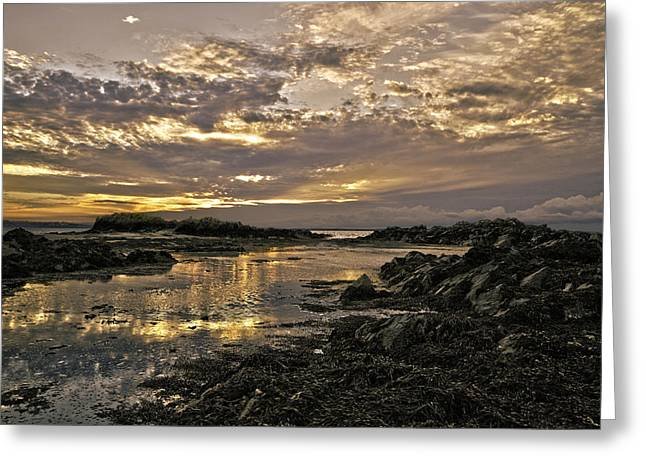 Skerries Sunset Greeting Card