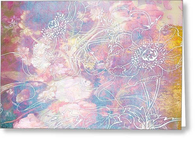 Sketchflowers - Posy Greeting Card by Aimee Stewart
