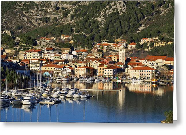 Skradin Greeting Card