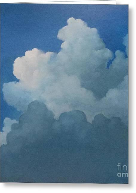 Sky Art Greeting Card by Cynthia Vaught