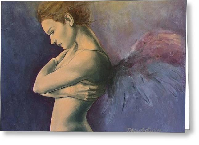 Sky Below Ground Greeting Card by Dorina  Costras
