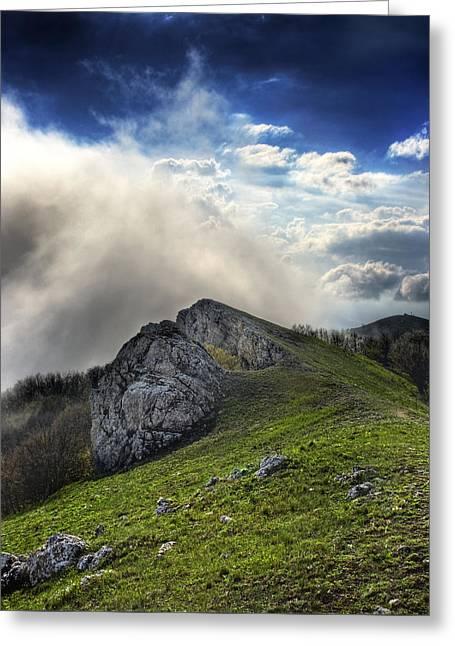 Sky Boundary Greeting Card
