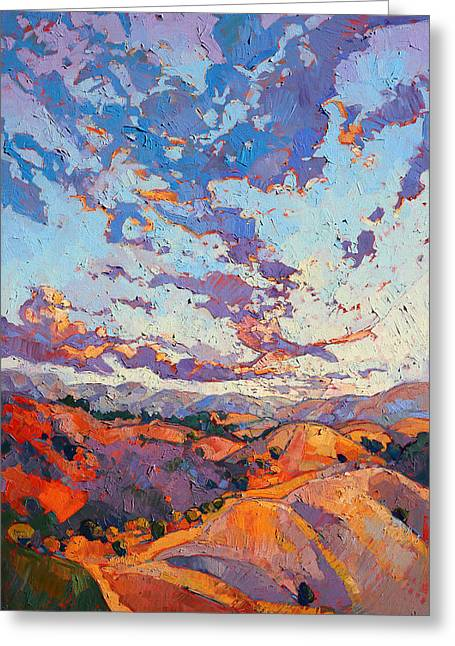 Sky Break Greeting Card